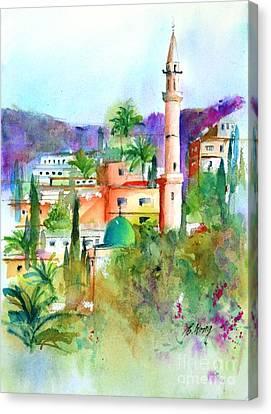 Middle East Skyline Canvas Print