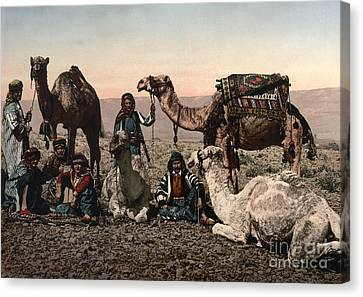 Middle East: Travelers Canvas Print by Granger