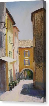 Midi In Valbonne Canvas Print by Jeanne Rosier Smith