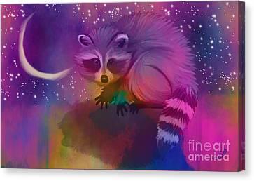 Midnight Bandit Canvas Print by Nick Gustafson