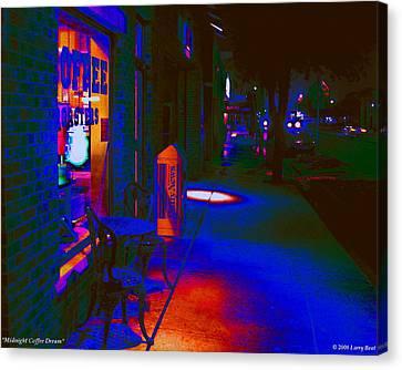 Midnight Coffee Dream Canvas Print