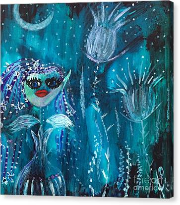 Midnight Fairy Canvas Print
