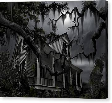 Midnight In The House Canvas Print by James Christopher Hill