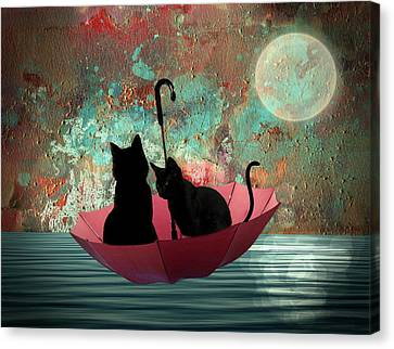Midnight Love 2 Canvas Print