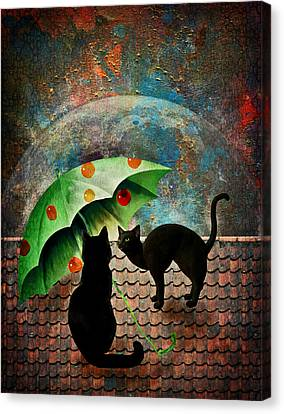 Midnight Love 3 Canvas Print