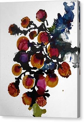Midnight Magiic Bloom-1 Canvas Print
