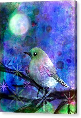 Midnight Oasas Canvas Print