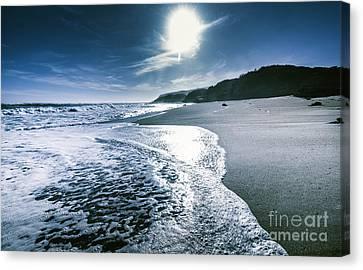 Midnight Ocean Fine Artwork Canvas Print