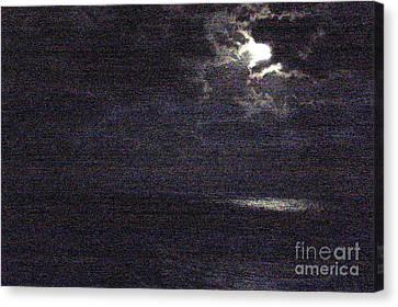Midnight Canvas Print by Priscilla Richardson
