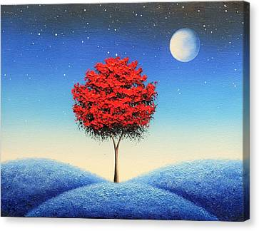 Midnight Story Canvas Print by Rachel Bingaman