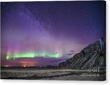 Starlight Canvas Print - Midnight Symphony by Evelina Kremsdorf