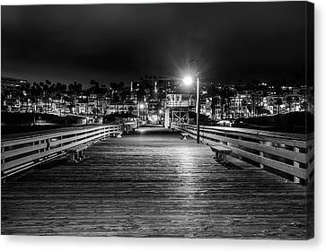 Midnight Walk Canvas Print by Aron Kearney