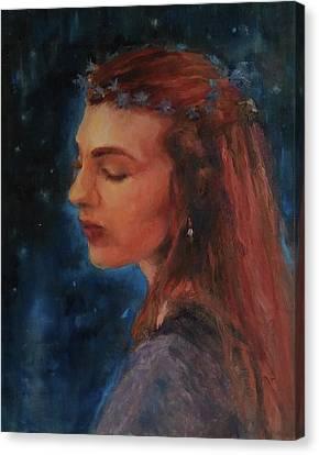 Midsummer Night Fairy Canvas Print by Brian Kardell