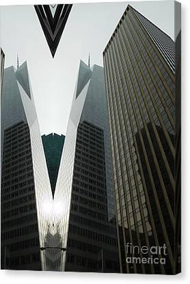 Midtown Manhattan #2 Canvas Print