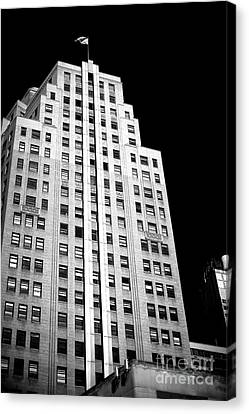 Canvas Print featuring the photograph Midtown Style by John Rizzuto