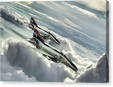 Midway Mig Killers Canvas Print by Peter Chilelli