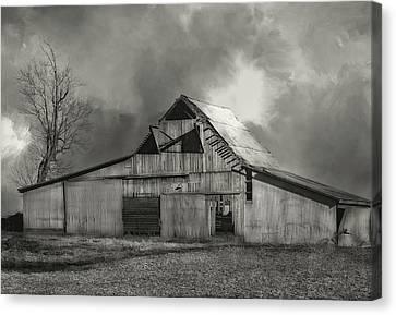 Midwest Farm Art Canvas Print