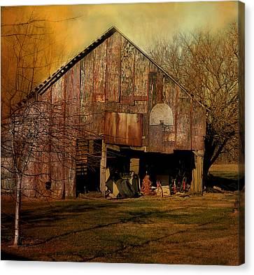 Midwest Farmer's Art Canvas Print