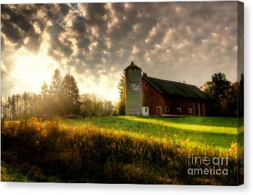 Midwest Morning Canvas Print by Joel Witmeyer