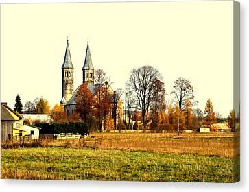 Miedzierza Church Canvas Print