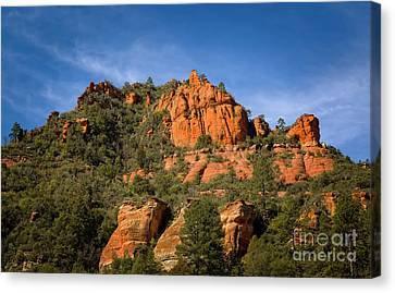 Mighty Fine Rocks Canvas Print by Jon Burch Photography