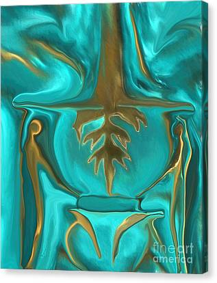 Arcylic Canvas Print - Mighty King Midas Gold by Sherri's Of Palm Springs