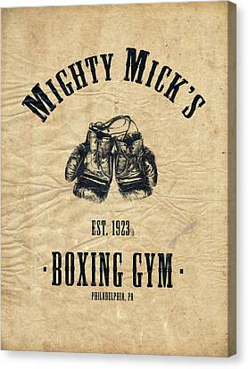 Mighty Micks Canvas Print by Mark Rogan