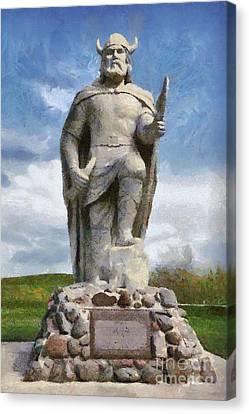 Mighty Viking Canvas Print