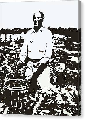 Migrant Farmer Canvas Print