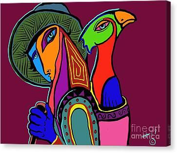 Migrating Bird Canvas Print