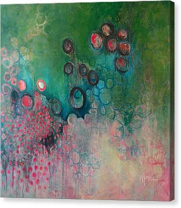 Canvas Print featuring the painting Migration by Laurie Maves ART