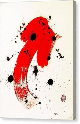 Mikado Rising Canvas Print by Roberto Prusso