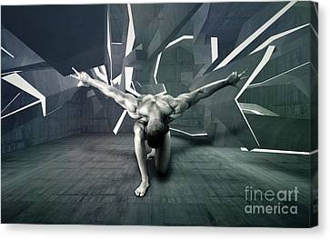 Mike 13 Canvas Print