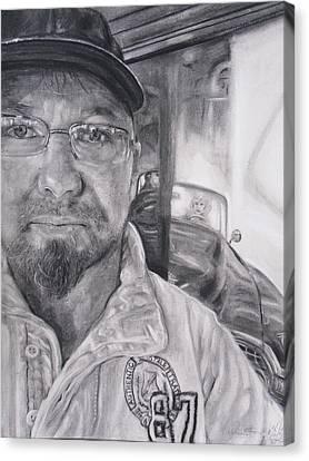 Mike Dennis Artist Canvas Print