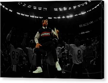 Mike Ditka Canvas Print by Brian Reaves