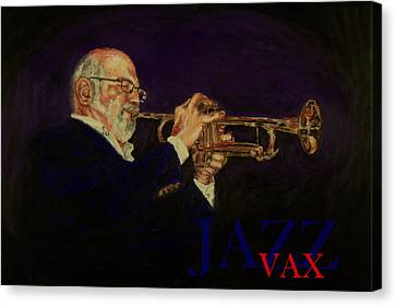 Mike Vax Canvas Print by Laurie Tietjen