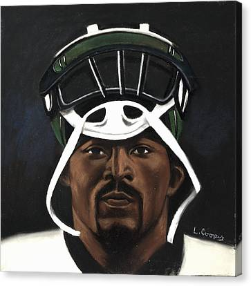 Mike Vick Canvas Print by L Cooper