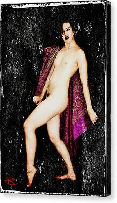Mikki 2 Canvas Print by Mark Baranowski