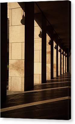 Canvas Print - Milan Columns by Art Ferrier