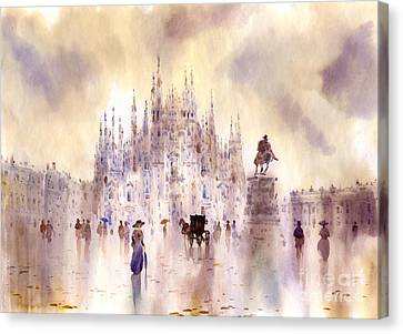 Milan Canvas Print by Svetlana and Sabir Gadghievs