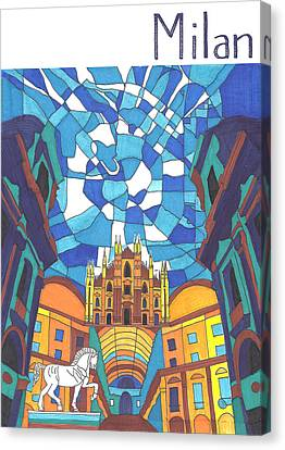 Milan Canvas Print by Ushma Sargeant