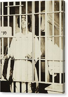 Militant Suffragist Helena Hill Weed Canvas Print by Everett