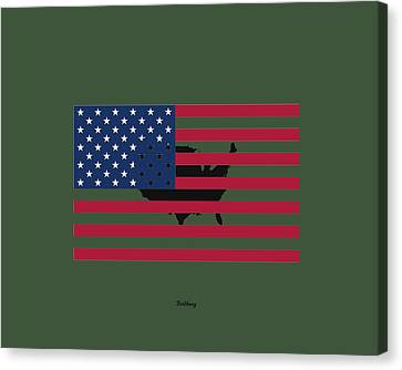 Military Man Canvas Print