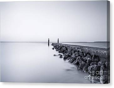 Staten Island Canvas Print - Milky Sea by Evelina Kremsdorf