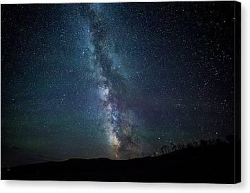 Milky Way Galaxy Canvas Print by Dan Pearce