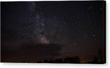 Milky Way Canvas Print by Gary Wightman