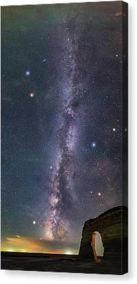 Milky Way Magic Canvas Print by Darren White