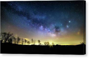 Milky Way Rising Canvas Print by Bill Wakeley