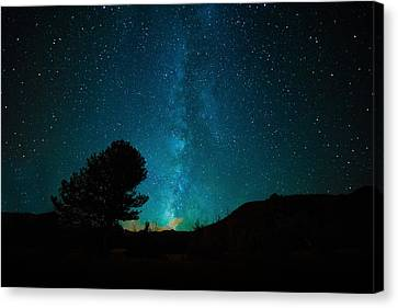 Milky Way Canvas Print by Starry Night