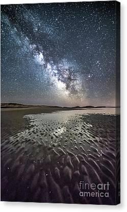 Maine Landscape Canvas Print - Milky Way Tide Pool by Benjamin Williamson